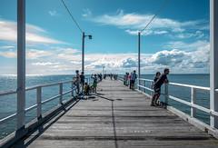 Urangan Pier (Explored) (TOXTETH L8) Tags: herveybay queensland australia fishing strolling sea widebay tourists