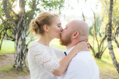 Wedding day (Andrew Goldman) Tags: wedding husband wife love true couple together amazing beautiful awesome woman man sunny sun summer happy day trees nature