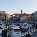 Le vieux port, Bermeo, comarque de Busturialdea, Biscaye, Pays basque, Espagne. thumbnail