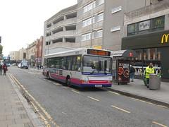 First Somerset & Avon 42925 (Welsh Bus 18) Tags: first somersetavon westofengland dennis dart slf pointer 2 42925 sn05eac westonsupermare hampshiredorset