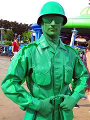Green Army Man (meeko_) Tags: green army man greenarmyman toy soldier toystory pixar characters disneycharacters pixarcharacters toystoryland disneys hollywood studios disneyshollywoodstudios themepark walt disney world waltdisneyworld florida