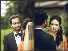 তোমার চোখে আমার মরণ (Ricky Photography ~ Canon) Tags: outdoor wedding bangladeshi groom bridal bride portrait canon 85mm asian fashion face