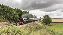 Sole Charge (4486Merlin) Tags: 60103 countryside england europe exlner flyingscotsman lnerclassa3 landscape railways steam transport unitedkingdom westyorkshire leeds gbr waverley rytc wcrc