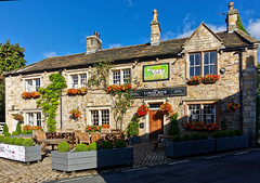 Lower Buck Inn (scottprice16) Tags: england lancashire waddington village pub inn history lowerbuckinn colour summer autumn 2018 august stone door sign shadow sunshine parkers browsholme 1760 sonyrx100m3 ribblevalley