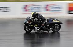 Turbo Busa_2469 (Fast an' Bulbous) Tags: bike biker moto motorcycle fast speed power accelereation drag race strip track santa pod outdoor nikon motorsport