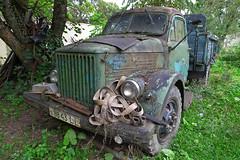 Abandoned Truck (Jolita Kievišienė) Tags: abandoned truck car old ghost rusty forgotten soviet apleista mašina senas sunkvežimis sovietinis gaz