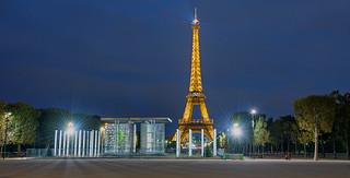 A Parisian Journey # 18 (Eiffel Tower II)