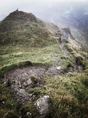 Follow the Path - Beinn an Lochain September 2018 (GOR44Photographic@Gmail.com) Tags: scotland argyll corbett beinnanlochain rocks gor44 phone samsung arrocharalps mountains hills mist path grass