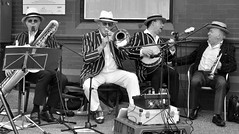 Play it Again Sam! (Maria .... on here to learn and be inspired.) Tags: band music brass group men fun carnival lythamstannes
