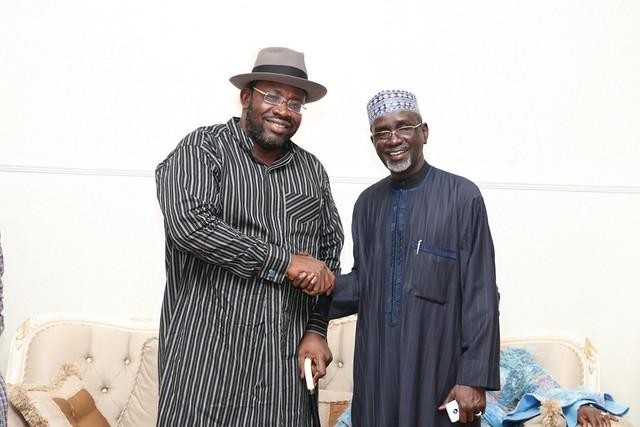 HSDickson- Condolence visit by Ibrahim Shekarau. 2nd August 2018