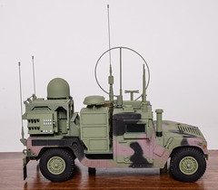 05-hmmwv_w_communication_equipment_military_scale_model (Gamla Model Makers) Tags: model replica scale military army humvee hmmwv truck armored m1152 equipment communication tradeshow presentation