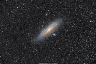 A Grande Galáxia de Andrômeda / The Great Andromeda's Galaxy