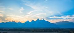 Teton Sunset (CD_MT) Tags: 1424mm cdmt d4 grandtetonnationalpark nationalpark nikkor nikon nikond4 tetons wyoming bluesky clouds colorful mountains sunset