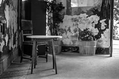 Still life in Dob Street (CsiziPhoto) Tags: nikonfe nikonseriese50mmf18 hoyaorangefilter ilfordxp2400