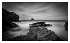 Stranded (Robgreen13) Tags: cornwall trebarwithstrand trebarwith northcornwall coastal longexposure blackwhite monochrome seascape rocks
