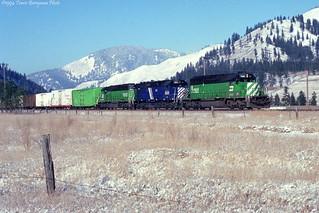 MRL November 1993 at Superior, MT