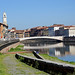 L' Arno a Pisa, Toscana, Italia