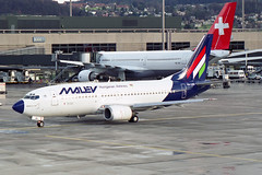 """Malev - Hungarian Airlines Boeing 737-3Y0 HA-LEG """"Szent István"""" (M. Oertle) Tags: malev hungarian airlines boeing 7373y0 haleg szentistván"""