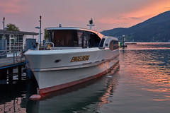 Switzerland – Lake Biel (Thomas Mülchi) Tags: biel cantonofbern switzerland 2018 bielersee lakebiel lacdebienne sunset dusk liner ship tourism engelberg landscape bielbienne ch