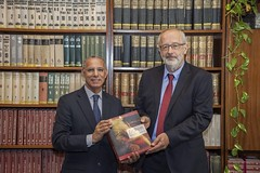 Director-General of the National Library of the Kingdom of Morocco visited NSZL (nemzetikonyvtar) Tags: cooperation morocco