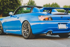 Honda S2000 CR (Adrs2k) Tags: honda hondas2000cr hondas2000 hyperracingblack apexbluepearl advan advanracing apexblue maxxisvictravr1 maxxistires maxxis kwclubsports kw greddy greddysedual