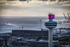 Liverpool sunset (Steve Samosa Photography) Tags: liverpool stjohn'sbeacon radiocity city cityscape sunset england unitedkingdom gb