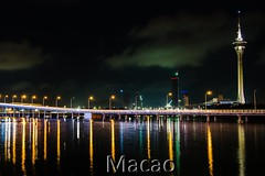 World Tour 05 (clamato39) Tags: asie asia china chine urban urbain skyline nightshot night nuit eau water lights lumières voyage trip