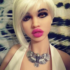 Mannequin Doll (capricornus61) Tags: tpe doll display mannequin window dummy dummies figur puppe face body art home indoor hobby collecting sammeln sexy lips lippen frau weiblich feminine