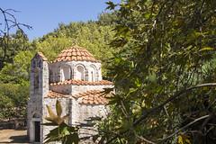 Agios Nikolaos Fountoukli in the trees (ir0ny) Tags: rhodes greece agios church orthodox greekorthodox nikolaos fountoukli agiosnikolaosfountoukli