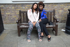 DSC_6673 John Wesley's Chapel City Road London with Alesha from Jamaica and Tricia from Ghana Two Beautiful Ladies (photographer695) Tags: john wesley's chapel city road london with alesha from jamaica tricia ghana two beautiful ladies