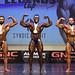 Mens Bodybuilding Light Heavyweight 2nd Brockwell 1st Ahegbebu 3rd Conti