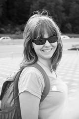 Daughter (Dmytro Tolokonov) Tags: girl daughter family outdoor portrait black white voigtlander lanthar