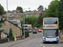 First Glasgow 33990 SN65OGF and 33991 SN65OGG - The Enviros of Lenzie (J.G1004) Tags: first glasgow 33991 sn65ogg 33990 sn65ogf