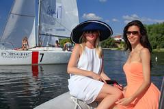 KRYC CUP 2014-4403 (amprophoto) Tags: sail sailing sailingyacht sailboat yachtrace regatta water wind white blue beneteau platu25 peoples sky sport spinnaker fun smile