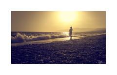 Playeando... (ángel mateo) Tags: ángelmartínmateo ángelmateo playa playadebalerma elejido almería españa andalucía hombre soledad sombrero puestadesol olas mar marmediterráneo ocaso calma orilla tranquilidad beach beachofbalerma spain andalusia man loneliness hat sunset waves sea mediterraneansea calm shore tranquility