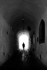 What Silence Said (parenthesedemparenthese@yahoo.com) Tags: dem 2018 alone andalousie andalusia bn espagne espana mai man monochrome nb noiretblanc salobrena silhouette spain street textures tunnel blackandwhite bnw byn canon600d ef24mmf28 grandcontraste highcontrast homme may mur printemps scalestudy seul spring streetphotography wall