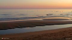 UN MATTINO ! (Salvatore Lo Faro) Tags: bassamarea mare cielo sabbia spiaggia alba rosso bellezza azzurro rodi puglia italia italy salvatore lofaro canong16