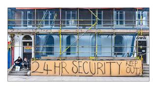 24 Hour Security, East London, England.