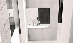 Barcelona Ballerina (kirstiecat) Tags: barcelona catalonia spain espana monochrome blackandwhite monochromemonday noiretblanc blancoynegro girl female shadow contrast creative artistic art moment cinematic elborn