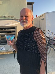 2018-08-28 Burning Man (359) (MadeIn1953) Tags: blackrockcitybrc blmland bm bm2018 brc burningman desertplaya nevada playa 2018 201808 20180828 littleblackdressparty ourcamp burnerbuddiescamp people bruce
