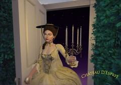 Rococo Perrine AD (Sofia ~Chateau D'Esprit~) Tags: cde rococo perrine hat straw flat baroque 18th century chateaudesprit secondlife