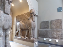 Lamassu from other side (c_nilsen) Tags: thebritishmuseum lamassu art sculpture nimrud assyria england unitedkingdom london museum digital digitalphoto
