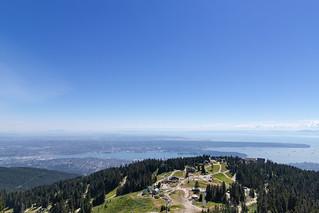 Grouse Mountain Vancouver Kanada