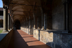 Bergame : Le Couvent de San Francesco (CpaKmoi) Tags: italie italia lombardie bergame cittaalta couvent covento sanfrancesco