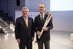 Munich | Germany..Thomas Bach, IOC President attends the Announcement of Allianz as a TOP Partner..IOC | Greg Martin (International Olympic Committee) Tags: munich germany