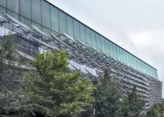 Gates Hall-HWW (Winter Returneth!!!) Tags: windows takenoutthewindow windowwednesday gateshall cornelluniversity building large futuristic builtin2014
