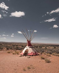 The dessert brings such a variety of surprises including this Native American Indian Tepee ⛺ _ _ #earth #travel #explore (liamvandenberk) Tags: digital sunny golden travel friends colours dusk natural camera adventure home fashion beauty pretty rural air newzealand liamvandenberk