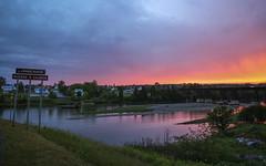 Grande-Rivière (vamp8888) Tags: canon eos 10m sunset gaspésie granderivière storm colour colors reflection reflet summer dannyboyphotography photo photography dannyboy