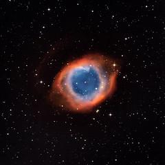 Eye of Sauron (yecatsiswhere) Tags: 2018 helix nebula helixnebula ngc7293 eye universe gas sky nebulae planetarynebulae astrophotography stargazing stars night longexposure telescope starburst itelescope space
