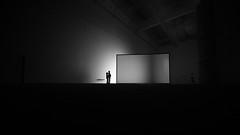 mesmerised (Hendrik Lohmann) Tags: streetphotography blackandwhite bwstreet bnw monochrome people urban minimalism lowlight nikon nikondf duesseldorf